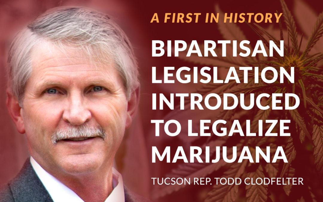 Tucson Rep. Todd Clodfelter, Phoenix lawmaker propose Marijuana legalization